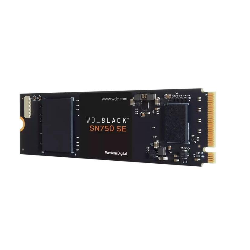WD BLACK SN750 SE 500GB PCI Express 4.0 (NVMe) M.2 2280