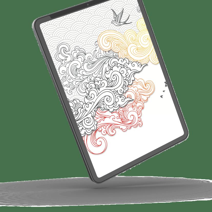 Zagg Glassfusion+ Canvas iPad 2019, iPad 8th gen (2020)