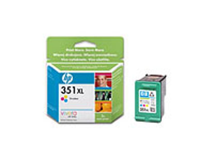 HP Blekk Farge No.351XL OfficeJet J5780 13ml