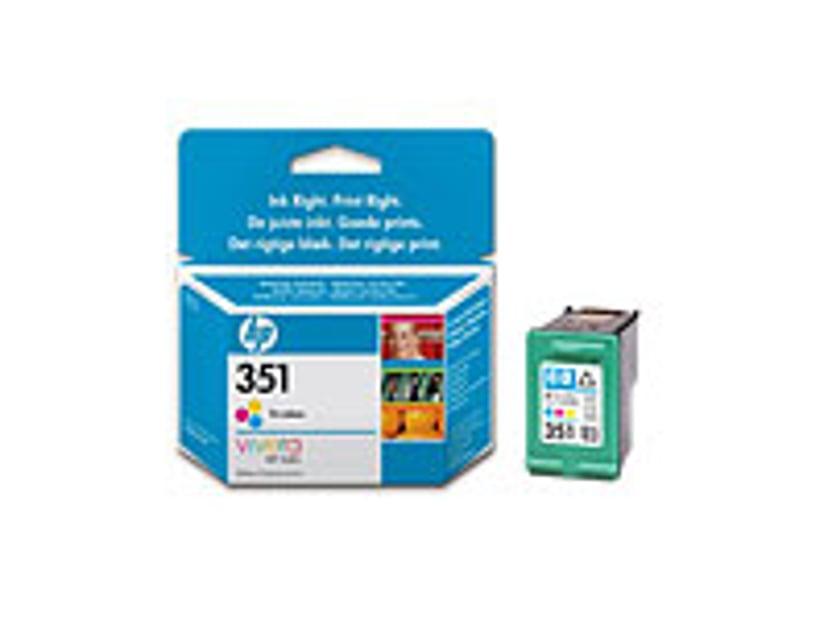 HP Bläck Färg No.351 OfficeJet J5780 3,5ml