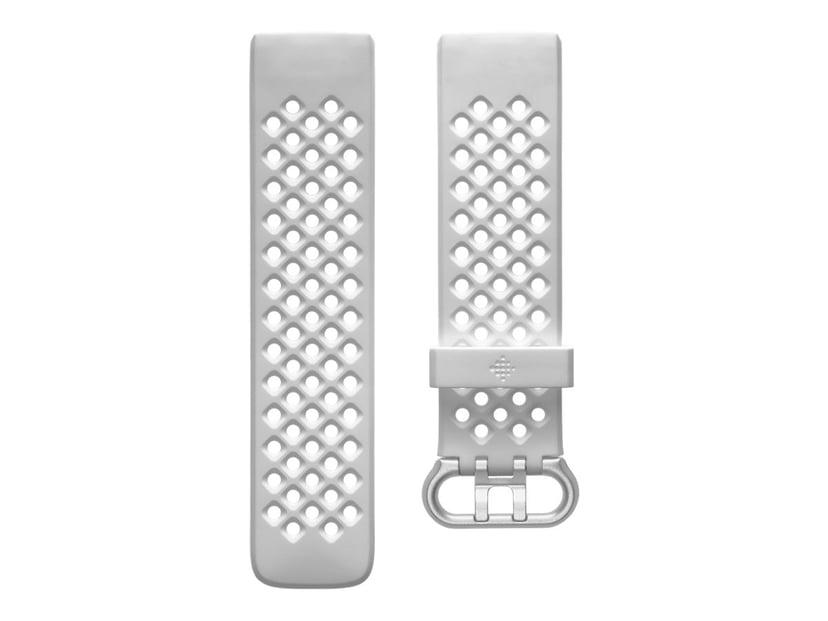 Fitbit Sport Armband Vitt Large - Charge 3/4