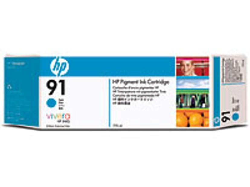HP Blekk Cyan No.91 - Z6100 775ml