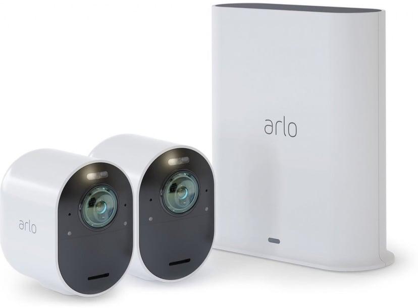 Arlo Ultra 2 Trådlös övervakning 2-pack