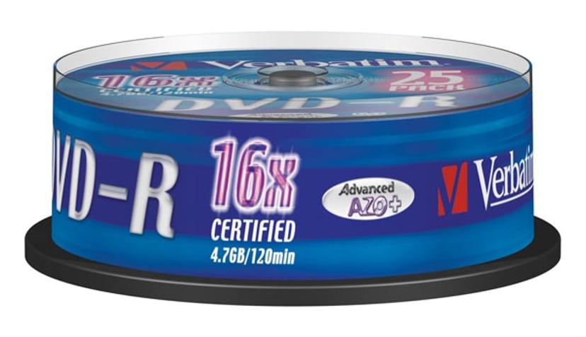 Verbatim 25 x DVD-R 4.7GB