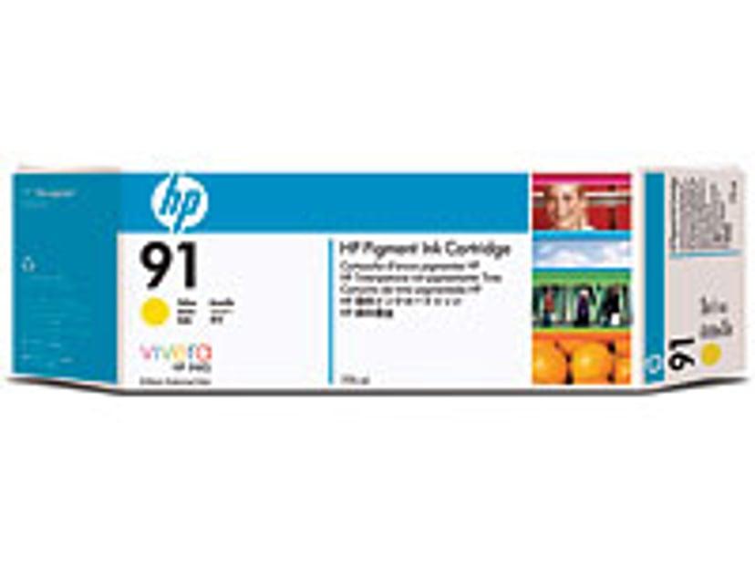 HP Muste Keltainen No.91 - Z6100 775ml