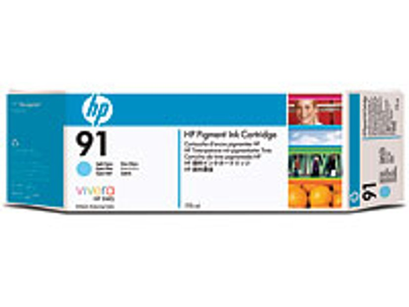 HP Blekk Ljus Cyan No.91 - Z6100 775ml