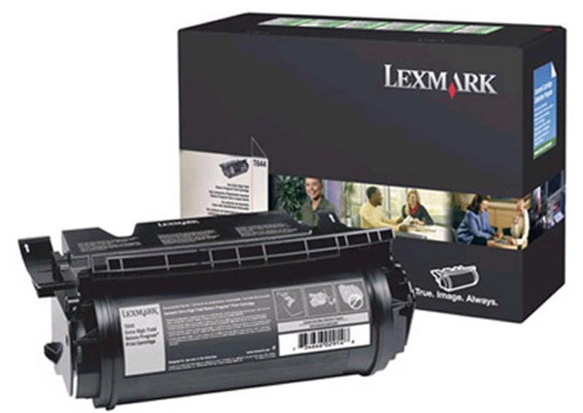 Lexmark Värikasetti Musta 32k - T644 Return