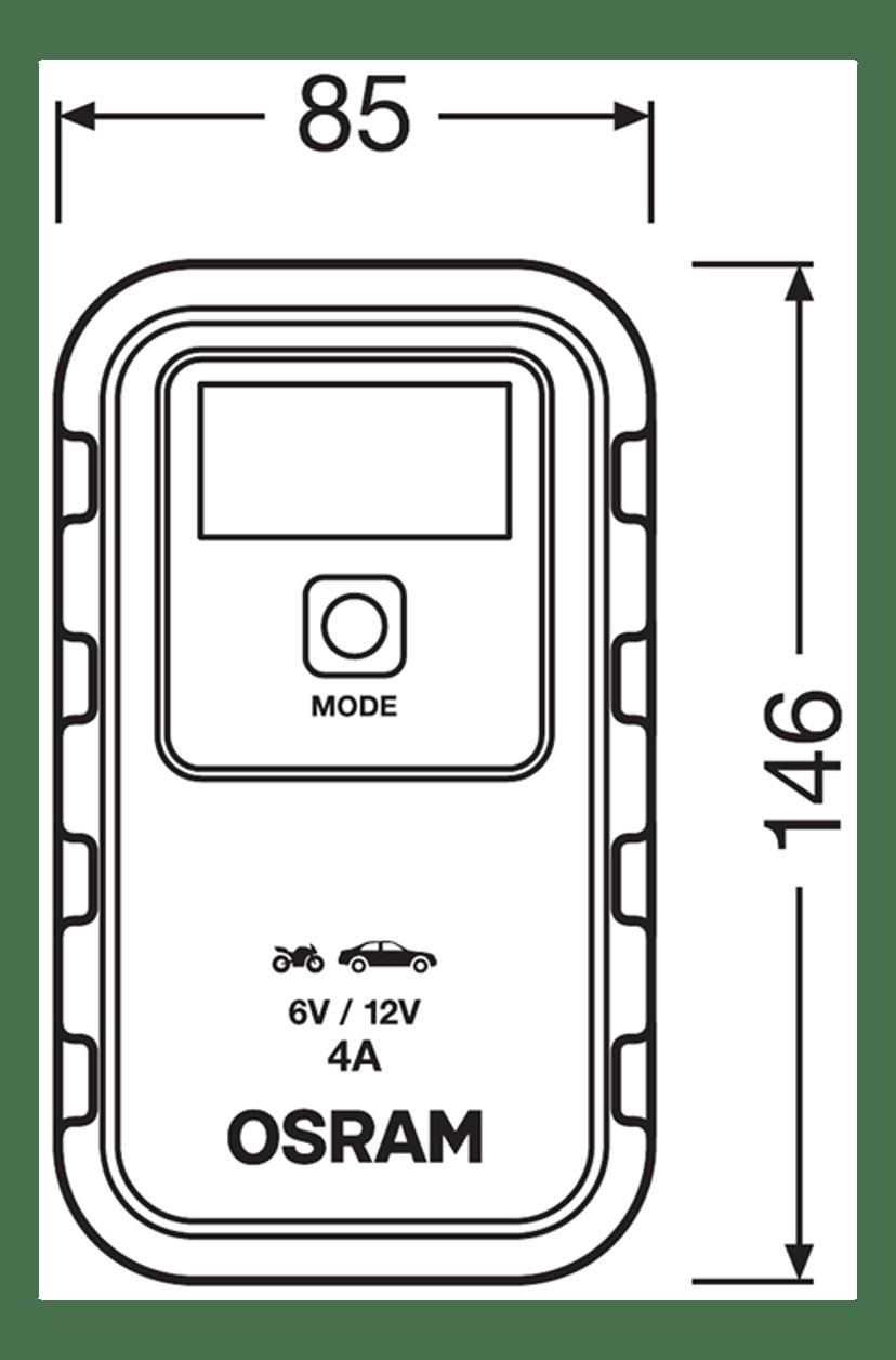 Osram Automotive Batteriladdare 904