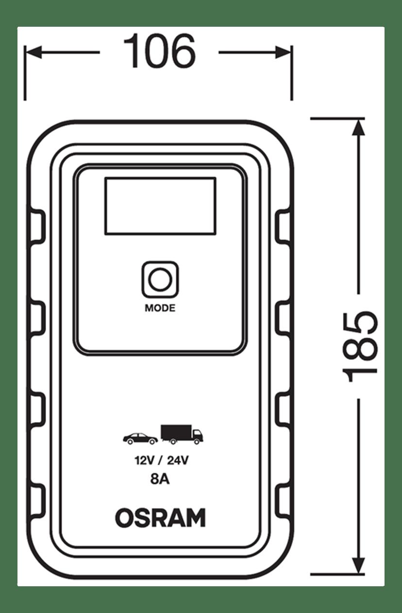 Osram Automotive Batteriladdare 908