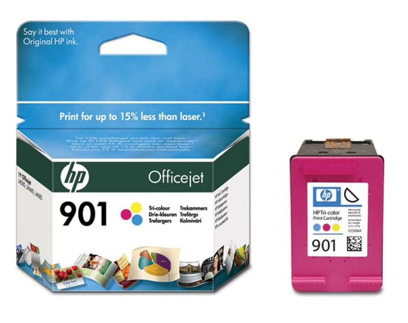 HP Blæk Farve No.901 - J4580