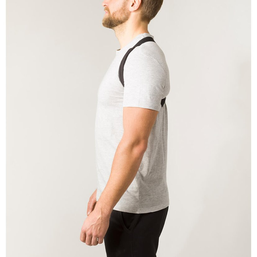 SWEDISH POSTURE Hållningsband Flexi One-Size Svart