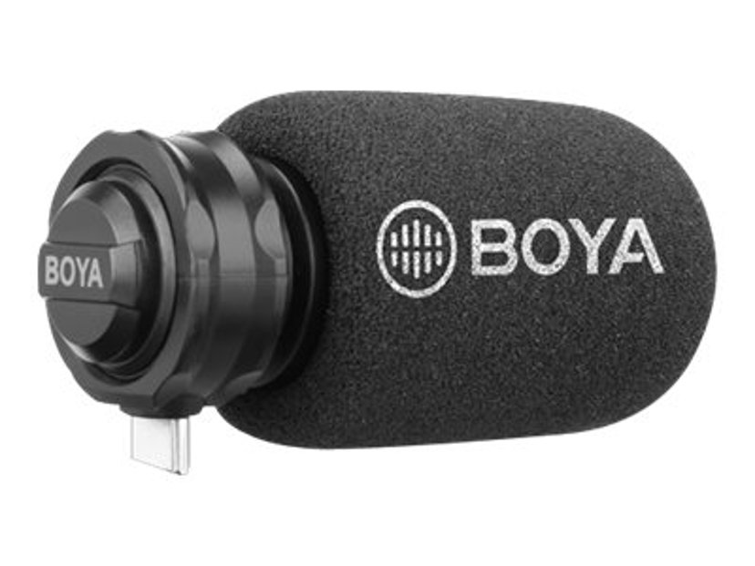 Boya BY-DM100 Mikrofon till USB-C-enheter Svart