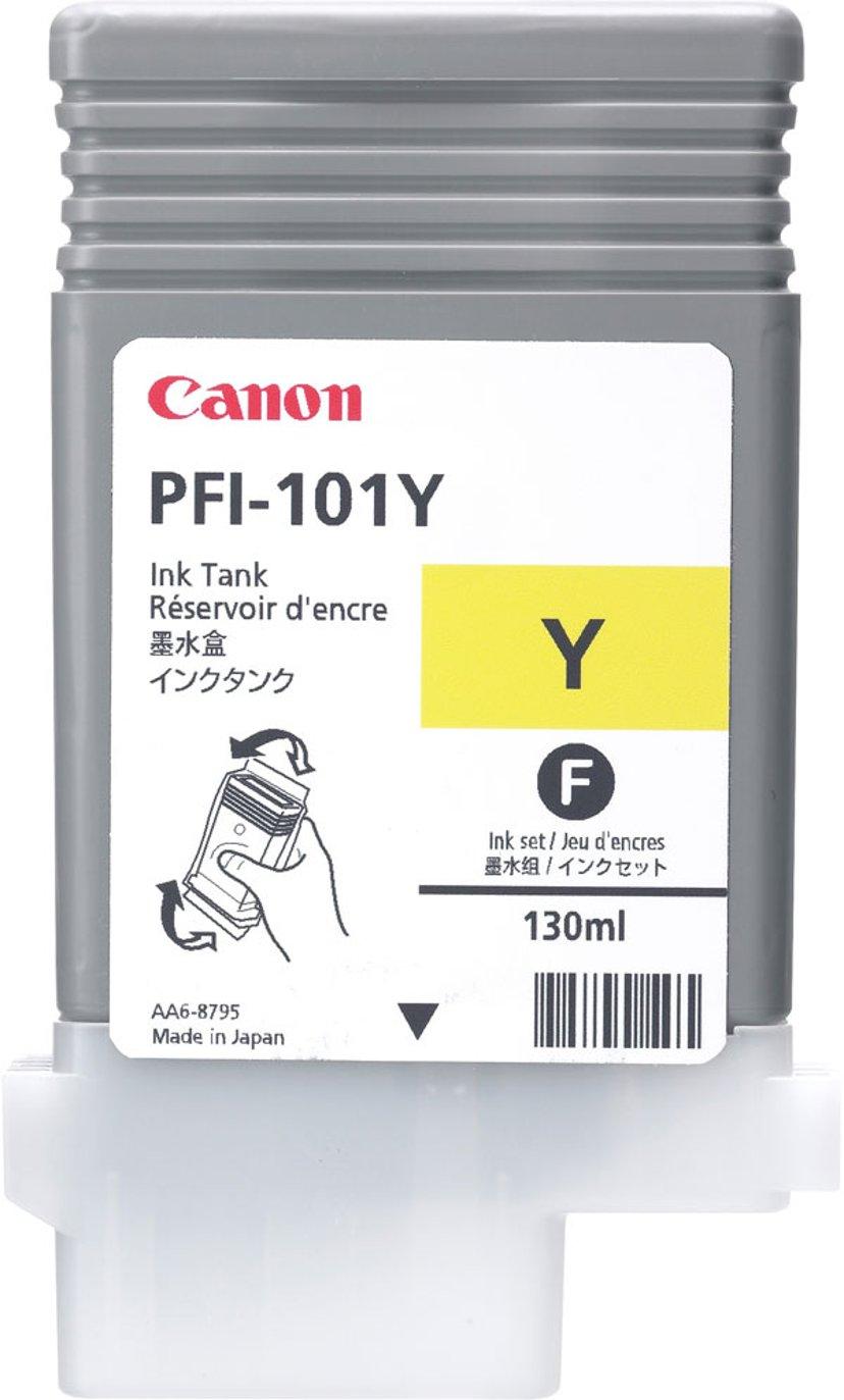 Canon Blæk Gul PFI-101Y - IPF5000