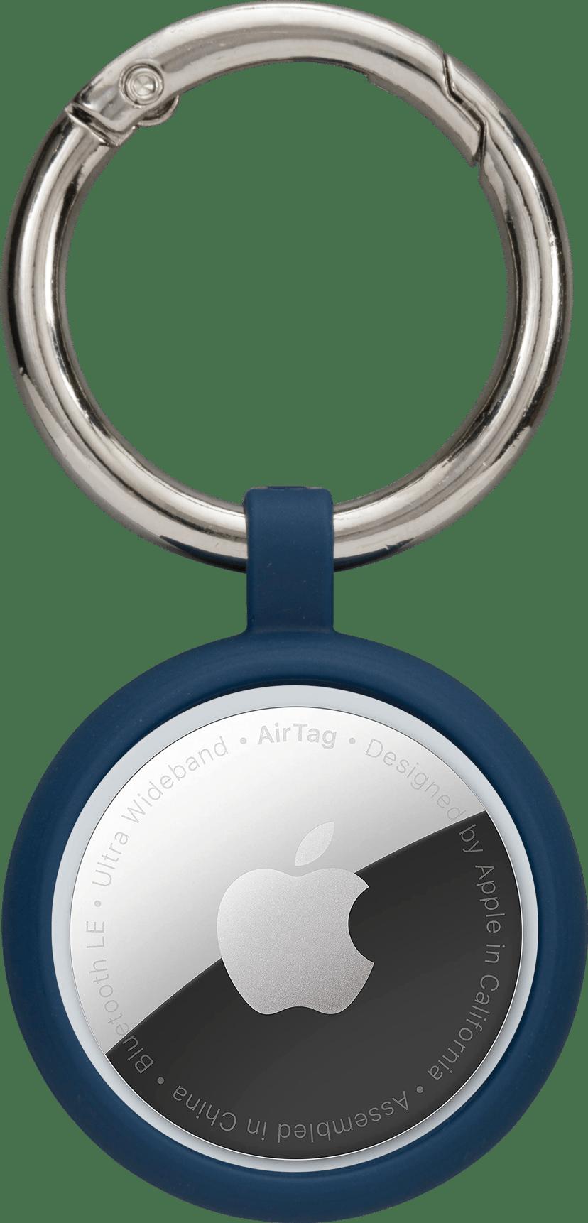 dbramante1928 Greenland Airtag Key Ring Pacific Blue