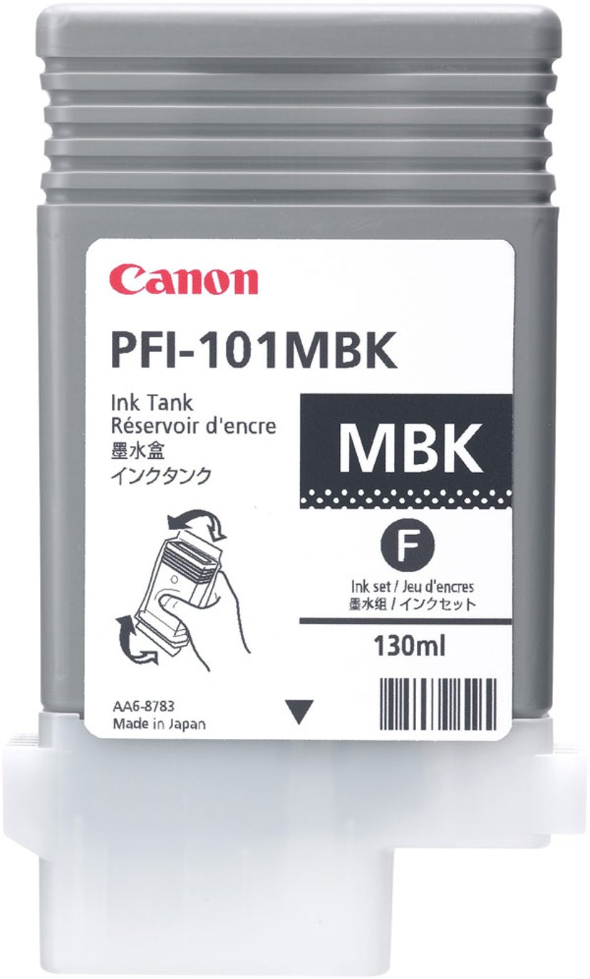 Canon Blæk Matt Sort PFI-101MBK - IPF5000