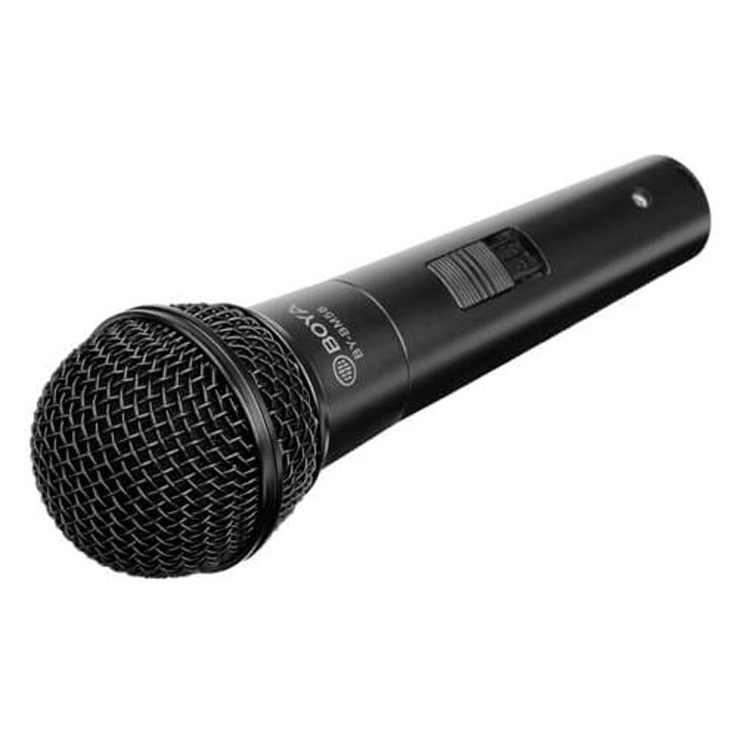 Boya BY-BM58 Kardiod Dynamisk Mikrofon Svart