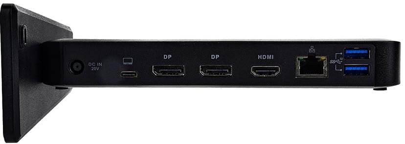 Prokord Portreplicator Dual DP Qhd Display 85W USB-C Portreplikator