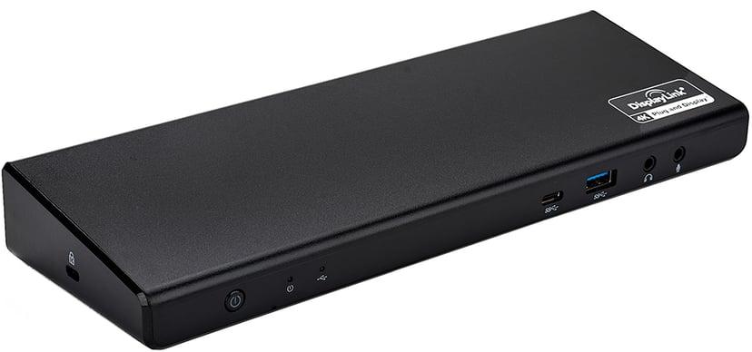 Prokord Portreplicator Triple 4K Display 96W Portreplikator USB-C