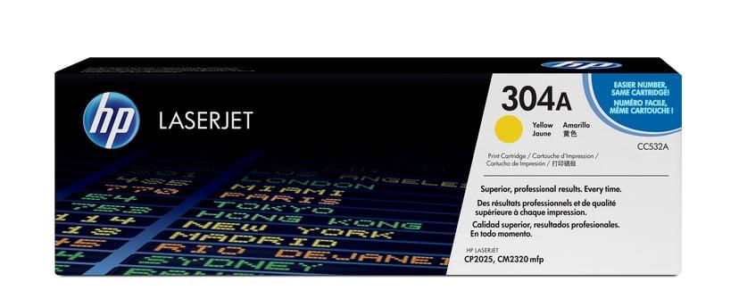 HP Värikasetti Keltainen 304A 2.8K - CC532A