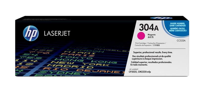 HP Värikasetti Magenta 304A 2.8K - CC533A