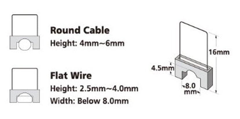 Direktronik Kabelklammer till 5011249750