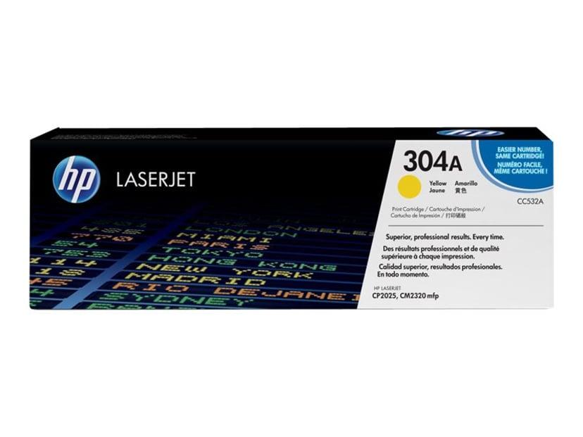 HP Toner Gul 304A 2.8K - CC532A