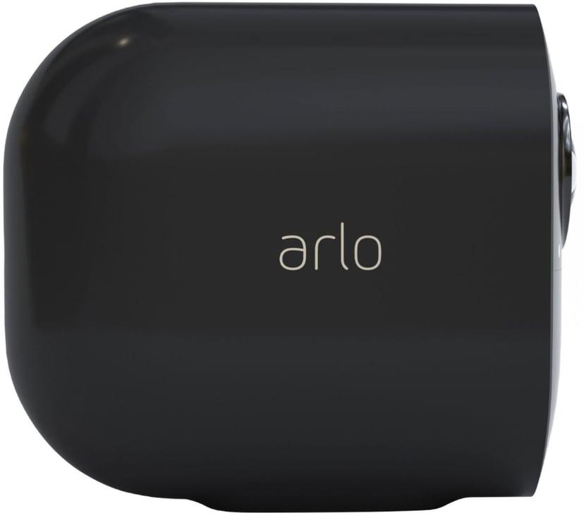 Arlo Ultra 2 Trådlös övervakning 2-pack Svart