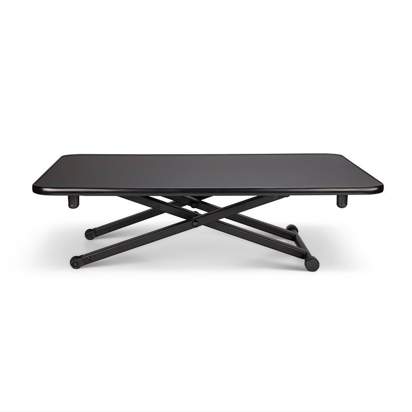 Matting Jobmate Mini -pöytä, siirrettävä, pieni, musta