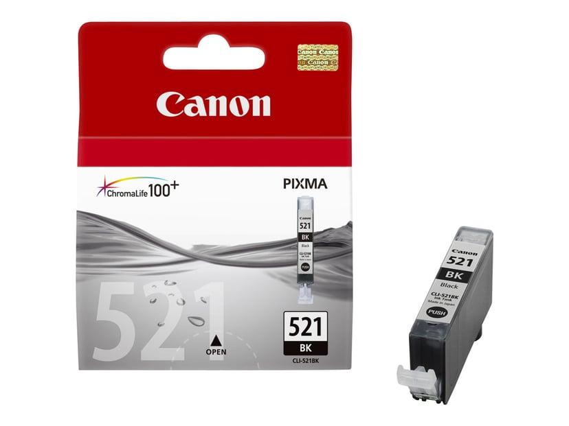 Canon Bläck Svart CLI-521BK - MP980