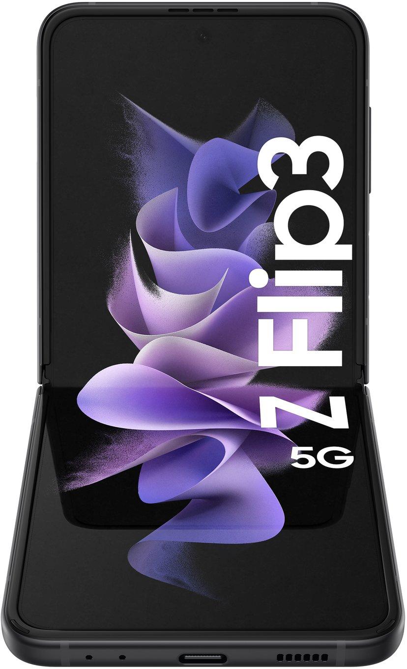 Samsung Galaxy Z Flip3 128GB Dual-SIM Fantomsvart
