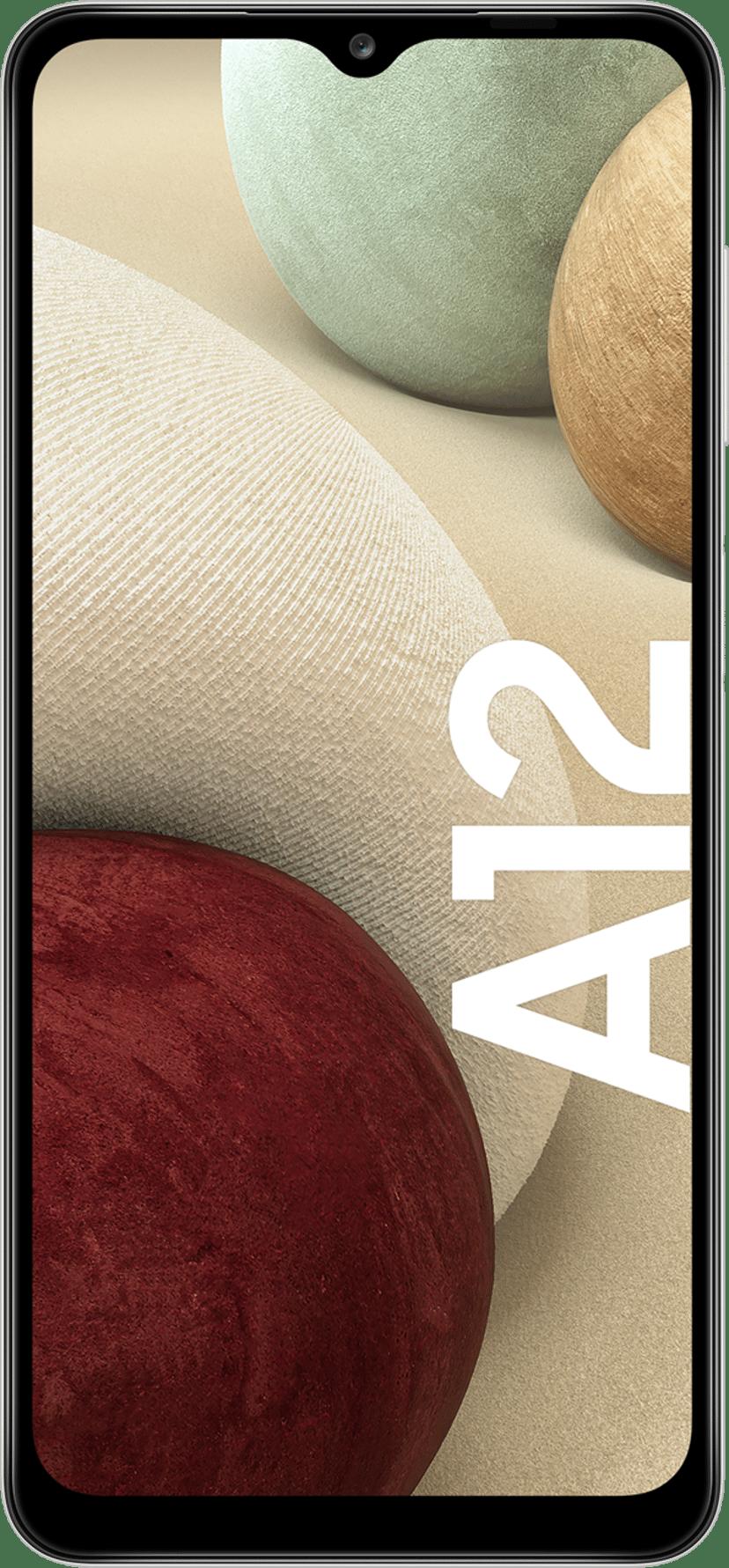Samsung Galaxy A12 White 64GB Dual-SIM Vit