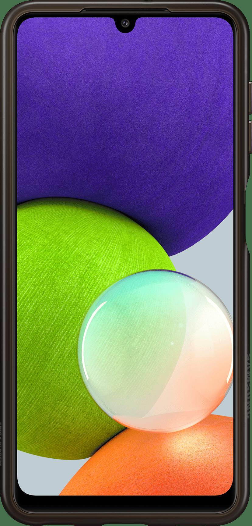 Samsung Soft Clear Cover Svart, Transparent