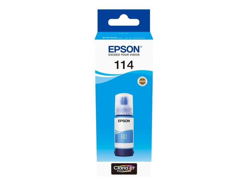 Epson Bläck Cyan 114 Bottle - ET8500/ET-8550