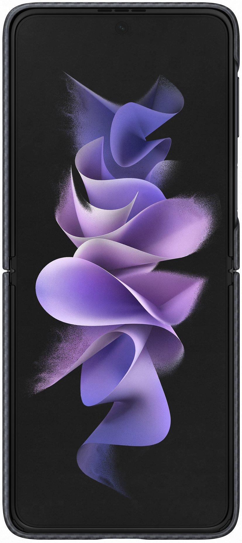 Samsung EF-XF711 Aramid Cover Svart Samsung Galaxy Z Flip 3