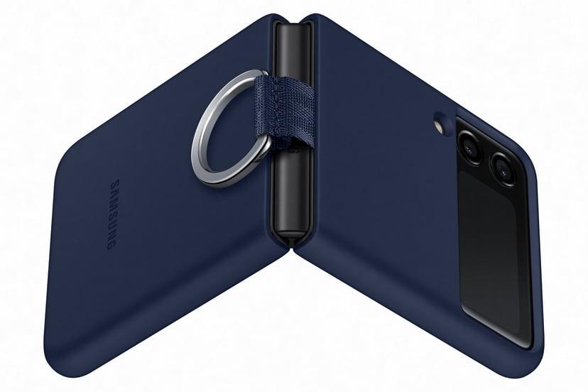 Samsung EF-PF926 Silicone Cover With Ring Samsung Galaxy Z Flip 3 Marin