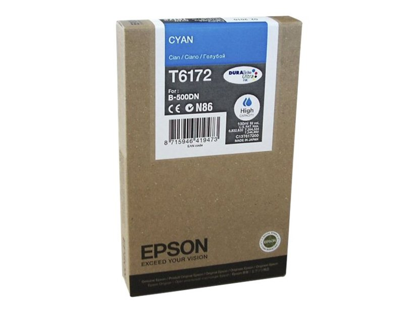 Epson Bläck Cyan 7K SID B-500DN