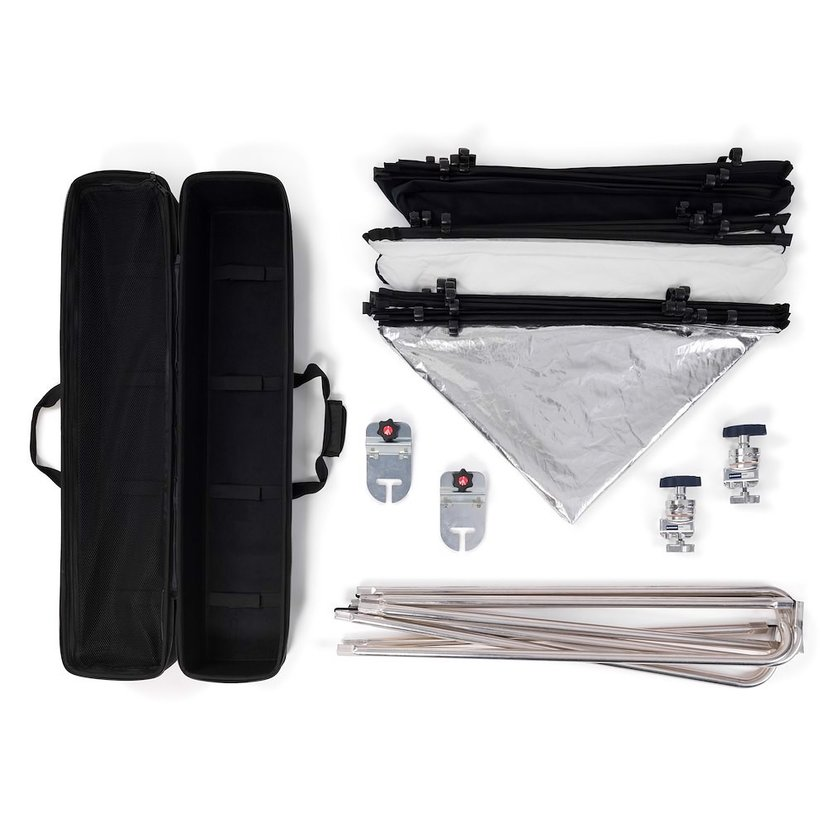 Manfrotto Scrim Kit 2 Pro All In One Large 2 X 2M
