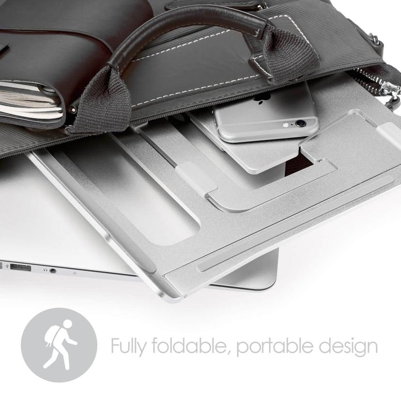 Desire2 Laptop Stativ Supreme Lite Portable 6 Olika Höjdjusteringar Silver