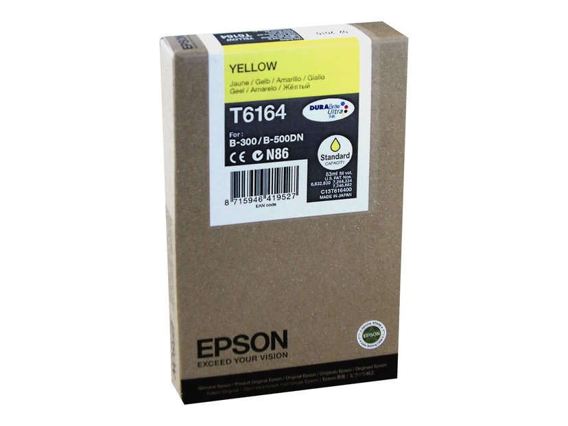 Epson Muste Keltainen 3,5K PAGES B-500DN