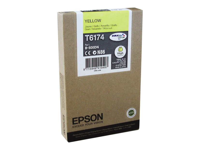 Epson Bläck Gul 7K PAGES B-500DN