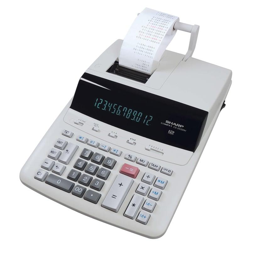 Sharp Remsräknare CS-2635RHGYSE