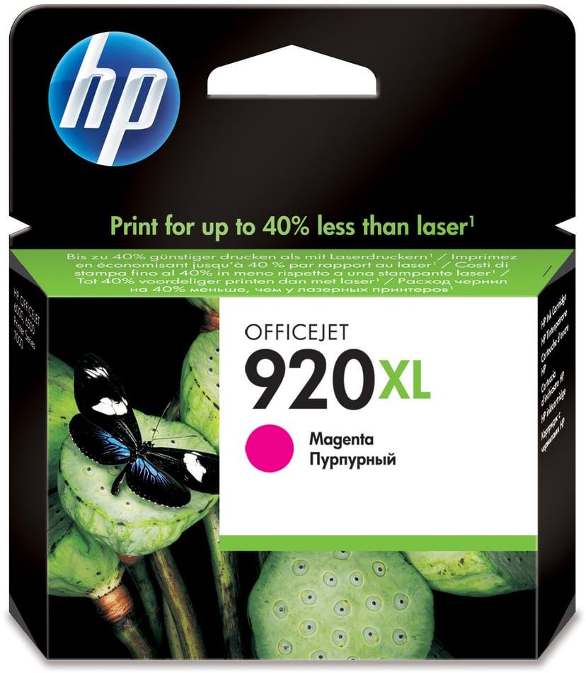HP Blæk Magenta No.920XL - OfficeJet 6500