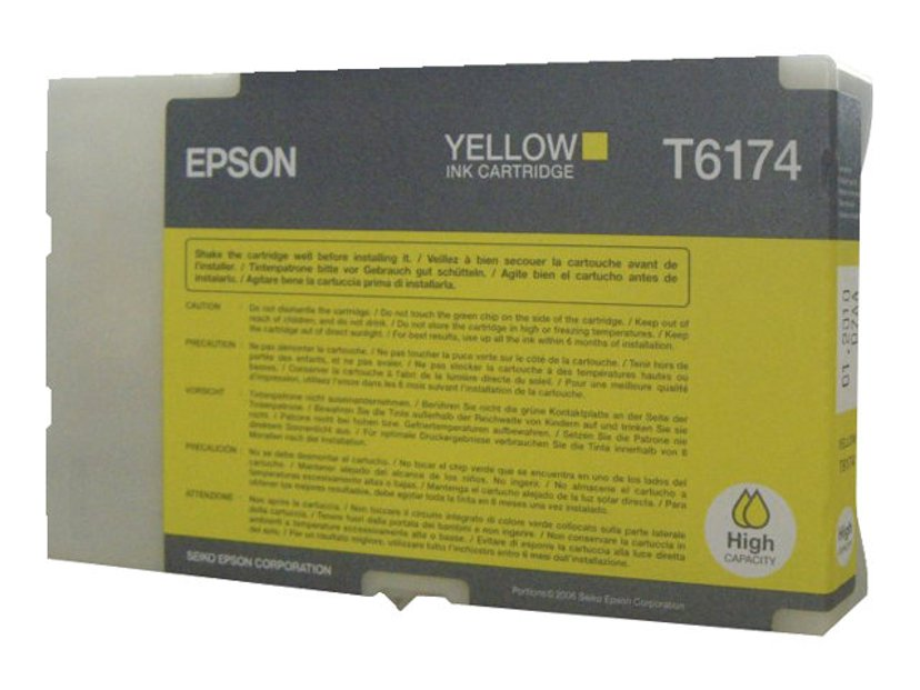 Epson Blekk Gul 7K PAGES B-500DN