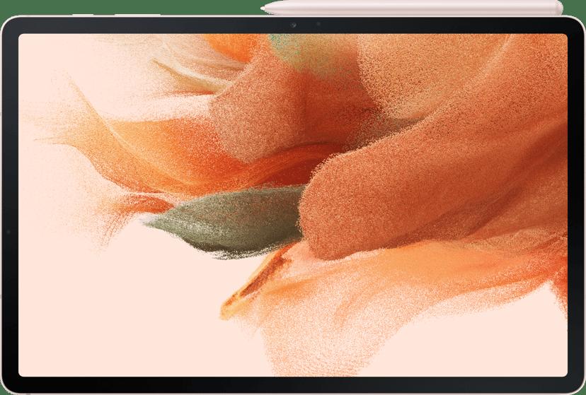 """Samsung Galaxy Tab S7 FE 12.4"""" Snapdragon 750G 4GB 64GB Mystisk rosa"""