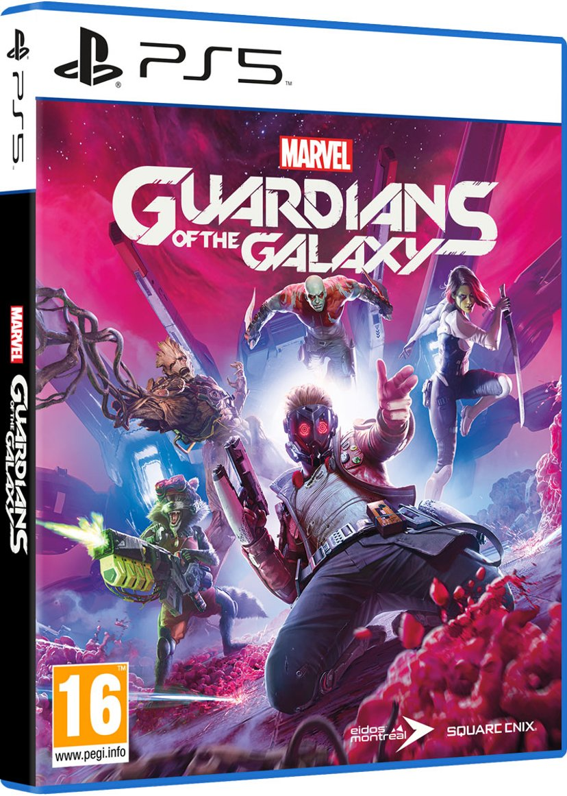 Square Enix Marvel's Guardians of The Galaxy Sony PlayStation 5
