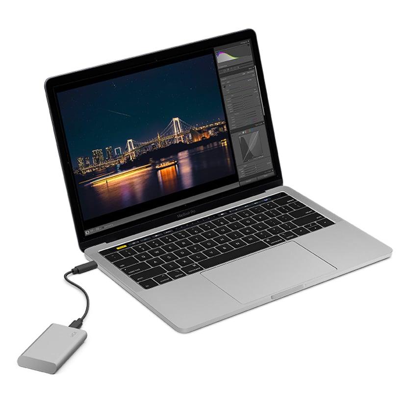LaCie Portable SSD V2 2TB Silver