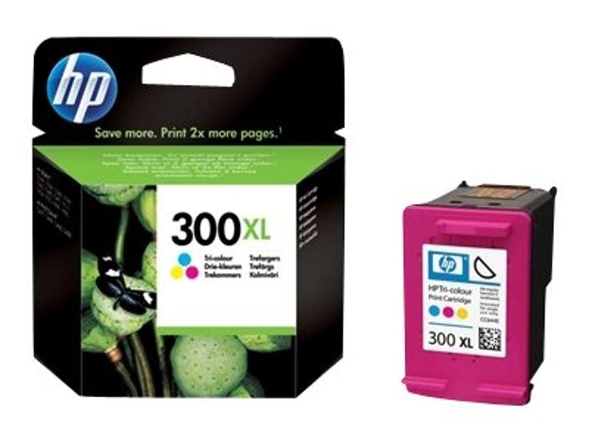 HP Blekk Farge No.300XL - F4280