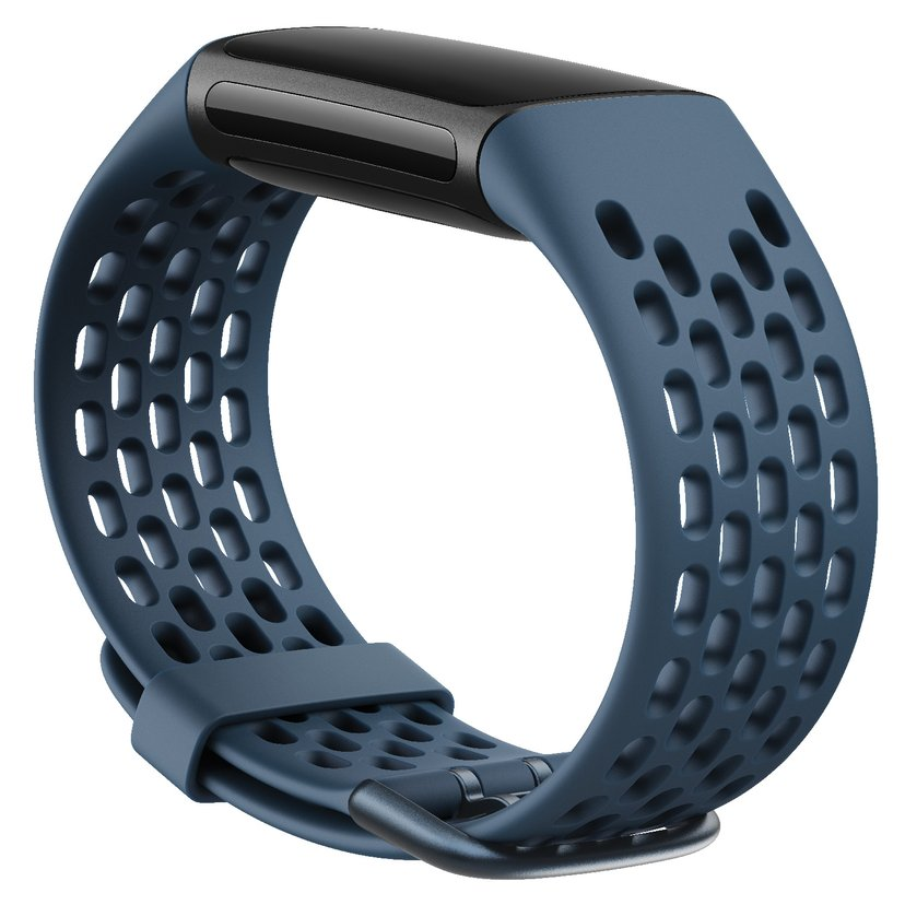 Fitbit Armband Sport Band Deep Sea Small - Charge 5