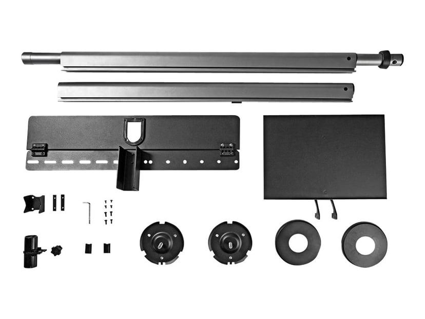 Nedis Monteringspakke (hylde, teleskopisk pæl, gulv-til-loftmontering) for Tv