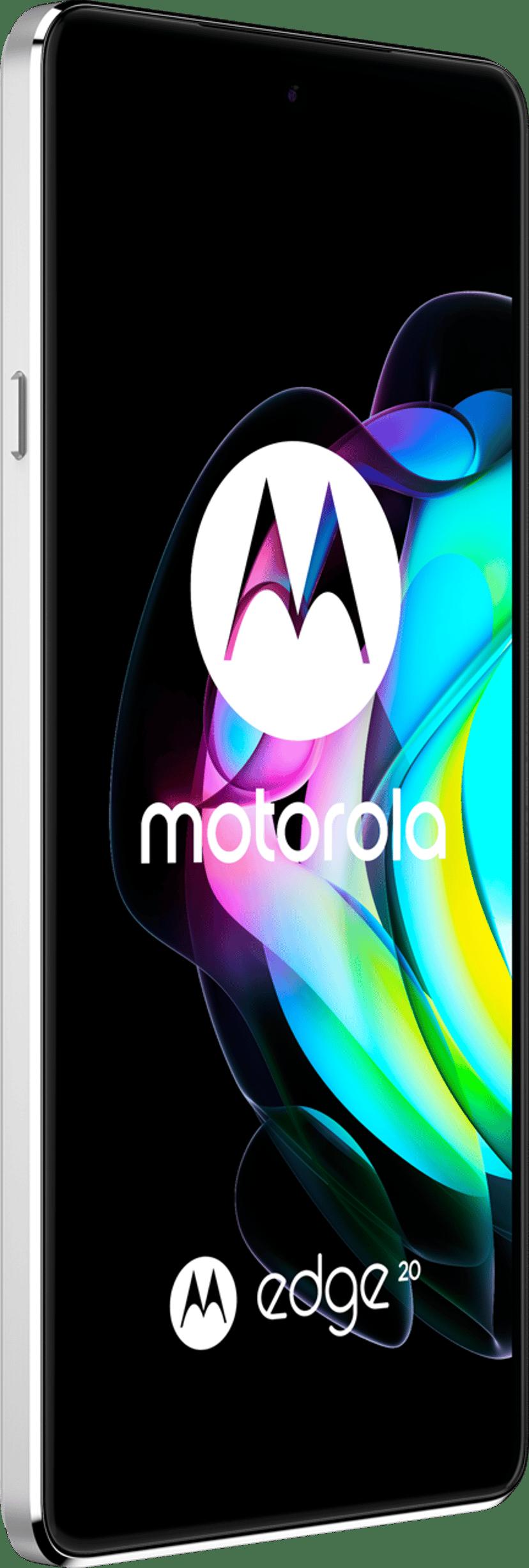 Motorola Edge 20 128GB Dual-SIM Frostigt vit